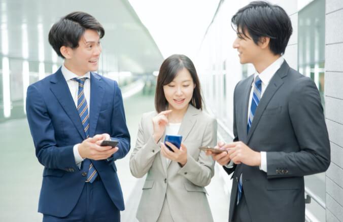 写真:社内コミュニケーションを、よりスムーズに活発にしたい!